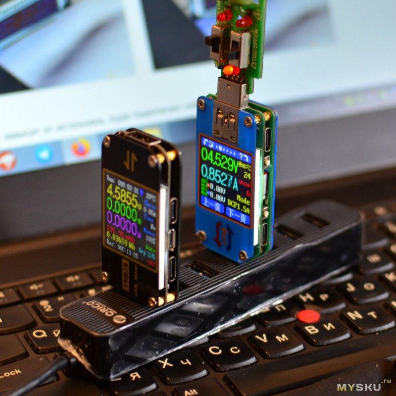 USB3.0 концентратор ORICO TWU3: 7 в 1