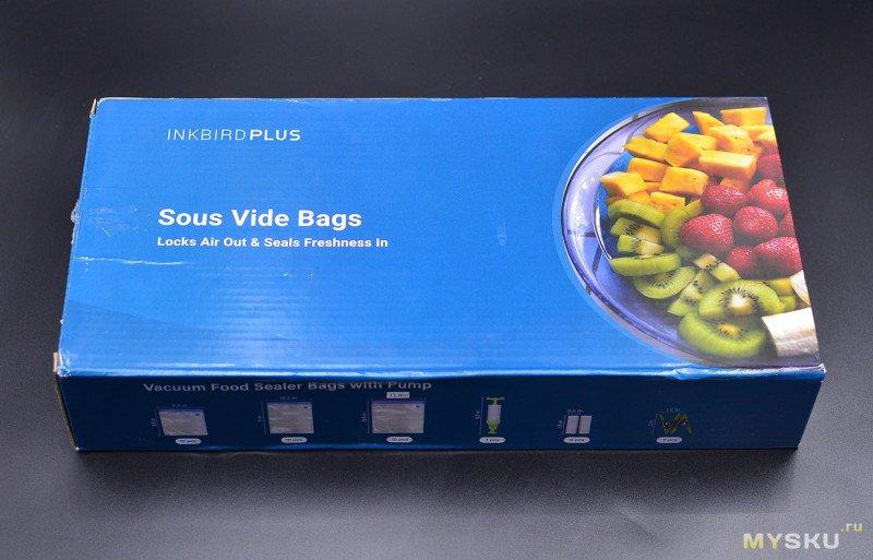Многоразовые вакуумные пакеты Inkbird