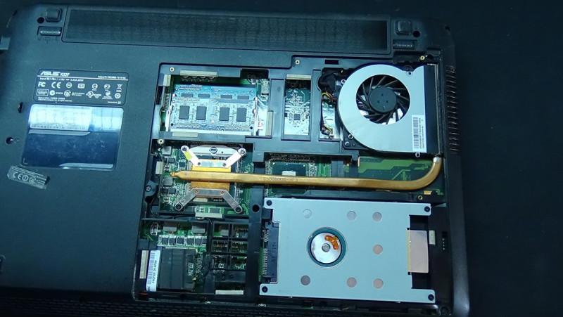 система охлаждения ноутбука с Aliexpress