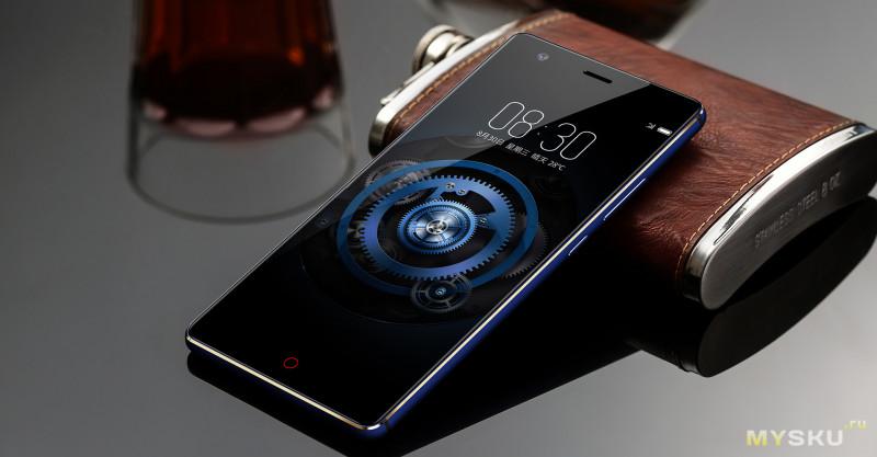 Смартфон ZTE Nubia Z17 mini (модель NX569J 4/64 Gb)