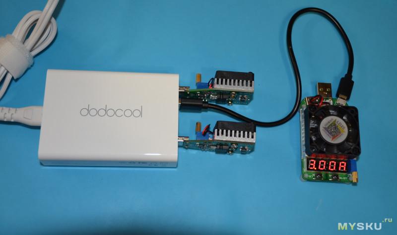 Мультипортовая зарядная станция Dodocool 58W Desktop Charging Station (6 USB, с QC3.0)