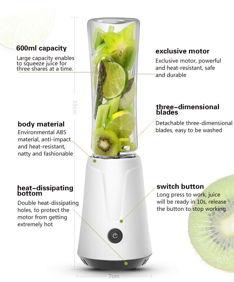 <span>Блендер для напитков TINTON LIFE Juicer</span>