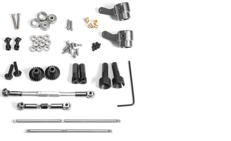 Металлические карданные валы для игрушек WPL/Henglong (пара)
