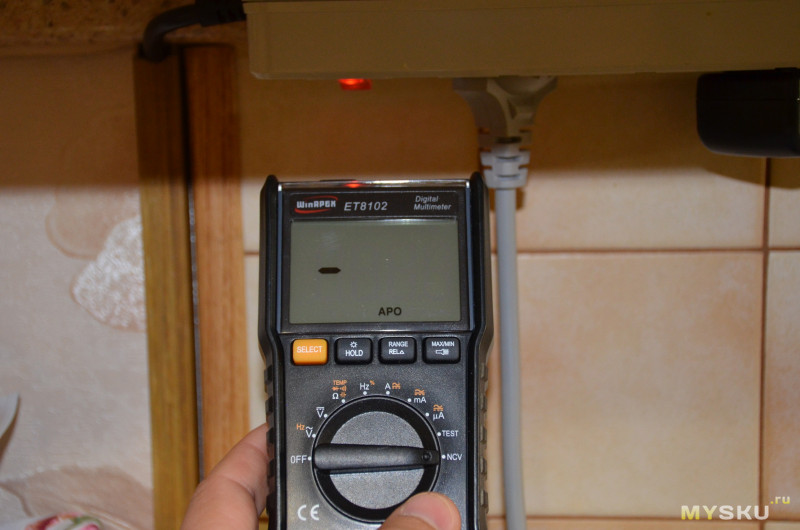 Мультиметр WinAPEX 6000: небольшой мультиметр с большими  возможностями