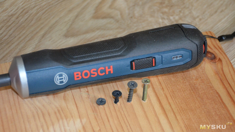 Мини-электроотвертка Bosch GO 3.6V Electric Screwdriver