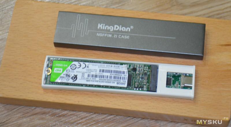 SSD WD Green M.2 2280: жирная и быстрая флешка!
