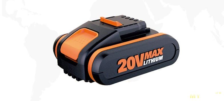Аккумуляторная УШМ WORX WX802 ($54 тушка)