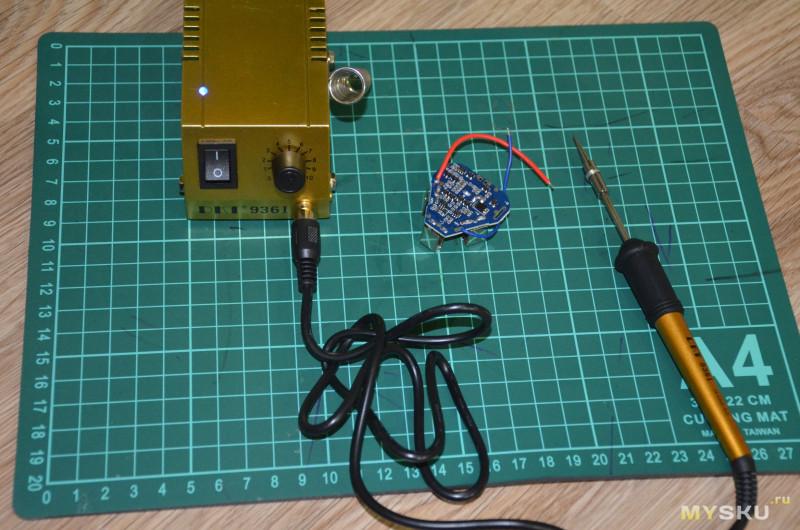 Мини-паяльная станция DKT 936I для SMD