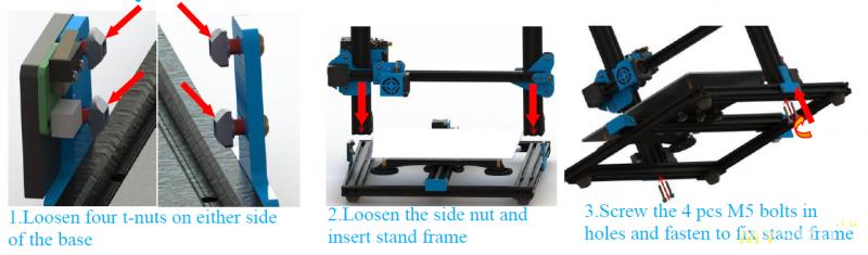 3D принтер Kohon с большой областью печати