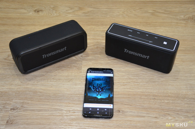 Защищенная портативная колонка Tronsmart Element Force Bluetooth Speaker IPX7
