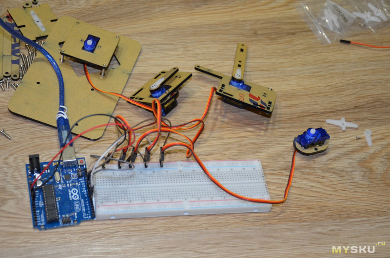 Плата Arduino Uno R3 (с кабелем) за $1.68