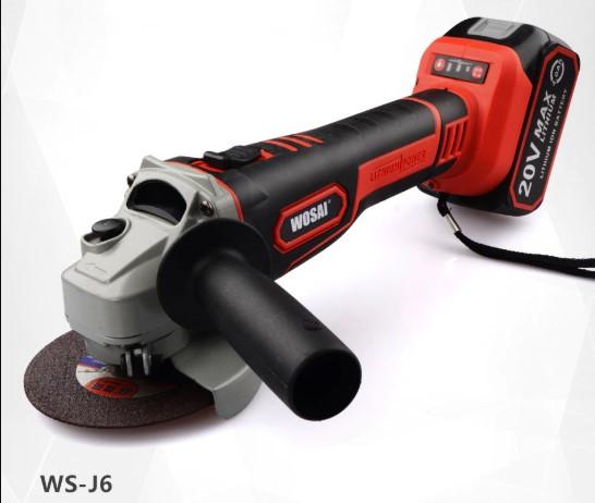 Бюджетная УШМ WOSAI WS-J6 Brushless Angle Grinder 20V