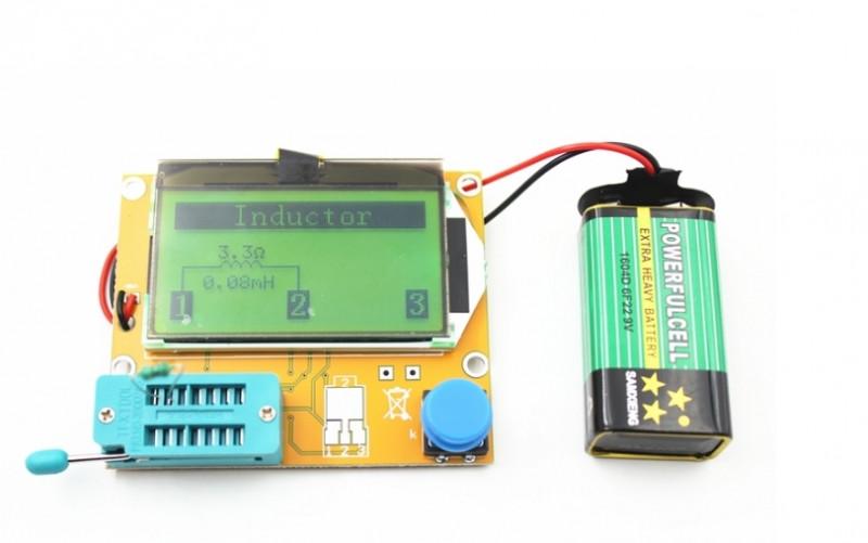 Универсальный измеритель транзисторов, диодов, ESR/LCR за $4.90