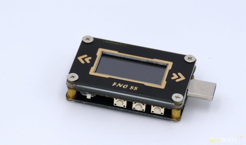 Смена прошивки USB тестера на примере USB-C PD тестера FNC88