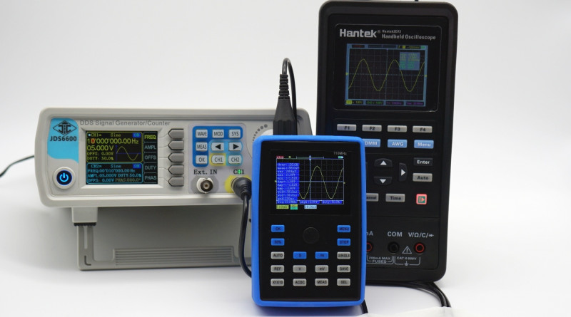 Карманный осциллограф Fnirsi 1С15 (110 МГц): лучший выбор за $60
