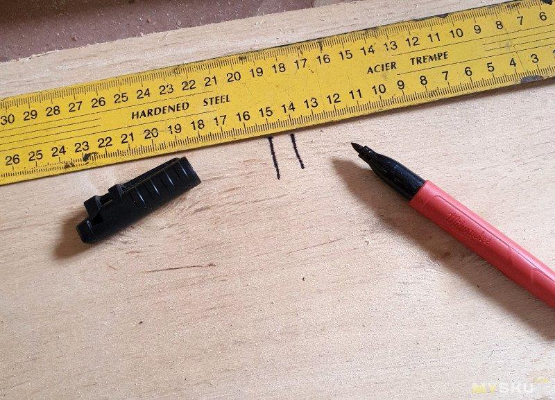 Строительный маркер Milwaukee Inkzall Fine Point Marker 48-22-3100
