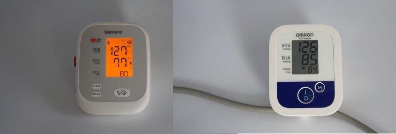 Автоматический тонометр Sinocare для измерения артериального давления
