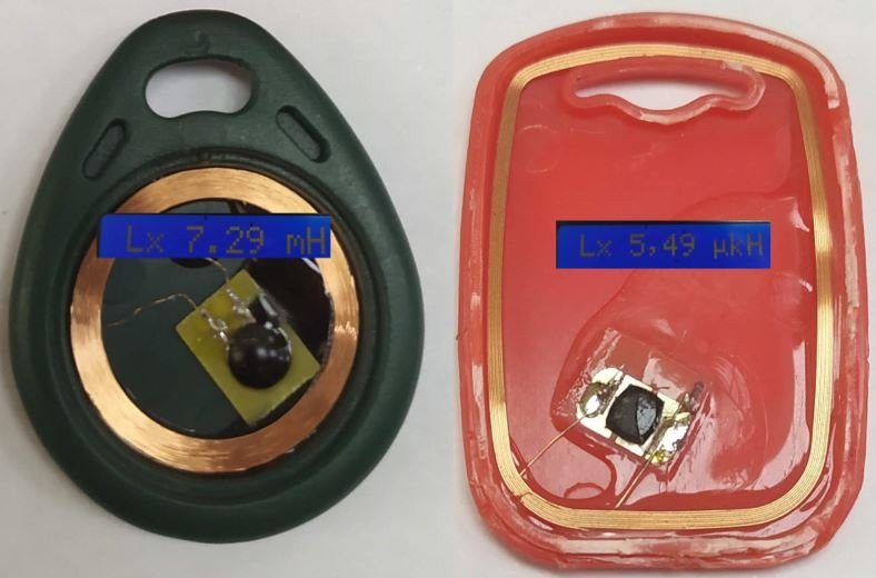 Антиметаллическая наклейка NFC RFID