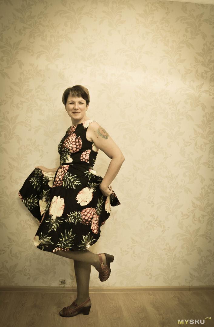 Ретро платье от Grace Karin.