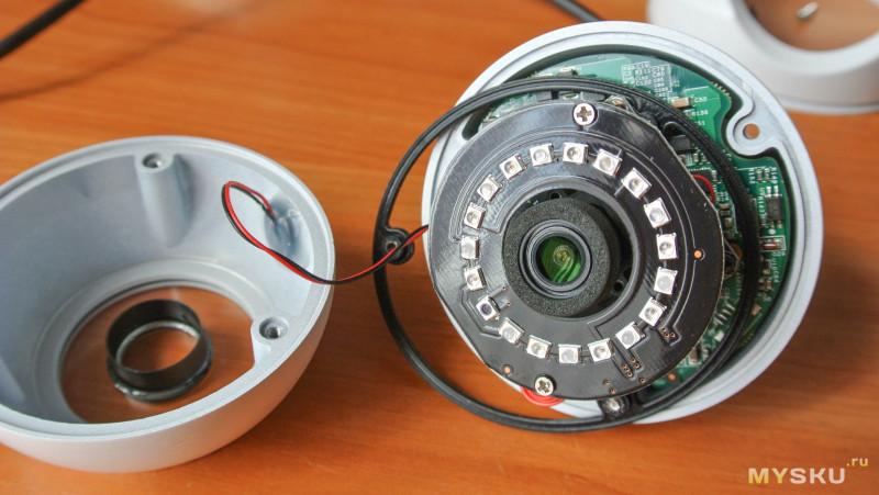 Купольная камера Reolink RLC-420 на 5MP объектив на 4мм.