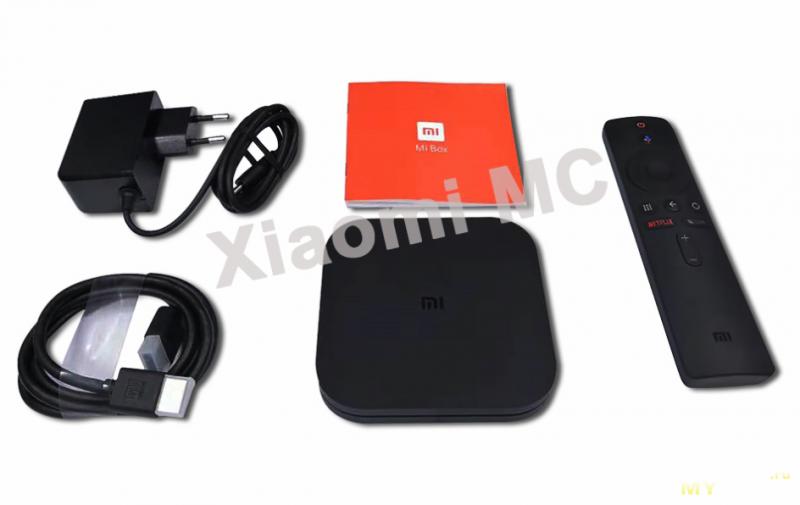 Глобальная версия Xiaomi Mi Box S за 47.99$