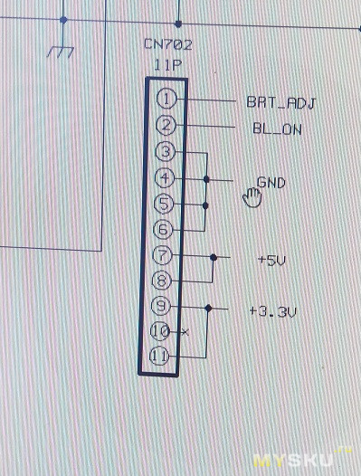 Комплект для замены CCFL ламп в старом мониторе на светодиоды