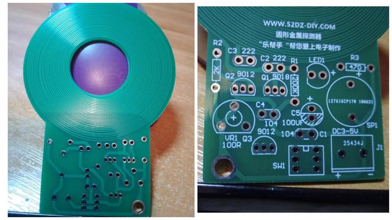 DIY комплект для сборки металлодетектора (металлоискателя) MDS-60