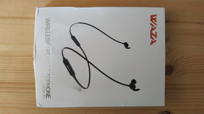 WAZA X1 - дешевые блютуз наушники с AptX