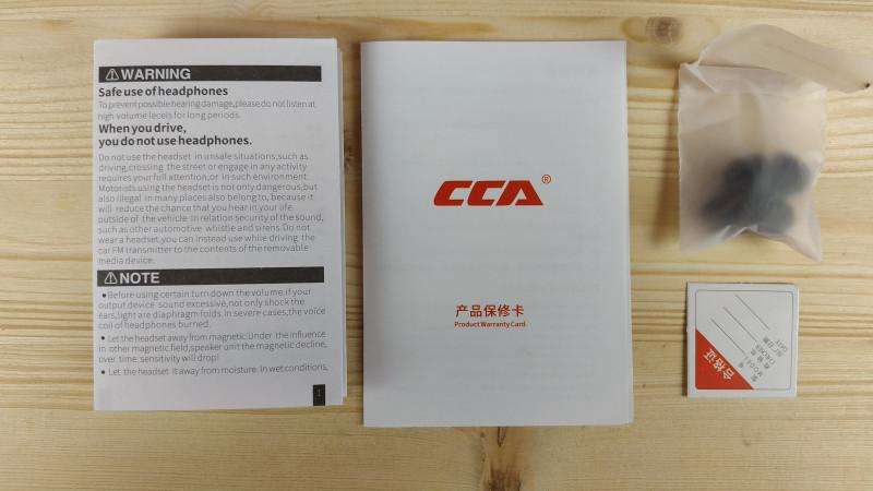 CCA C04 - наушники с потенциалом