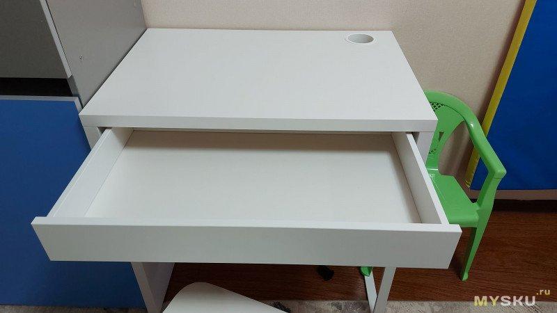 Стол и кресло из IKEA для подростка