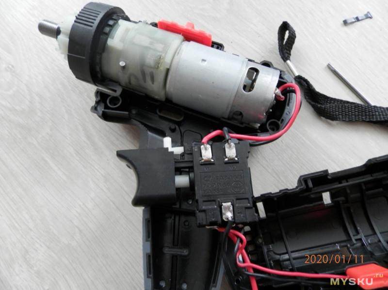 Аккумуляторная ударная дрель- шуруповёрт.