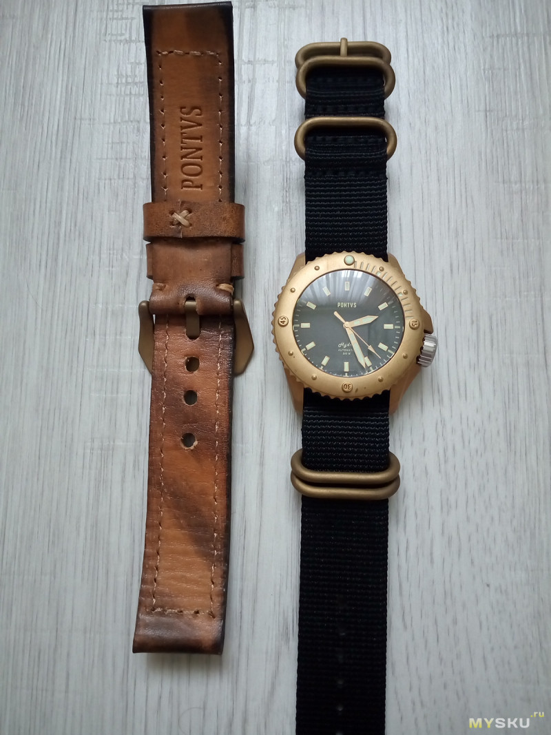 В Чили тоже делают часы: PONTVS BLACK HYDRA