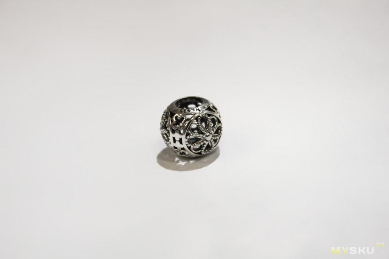 Браслет с шармами. Проверяем китайское серебро.