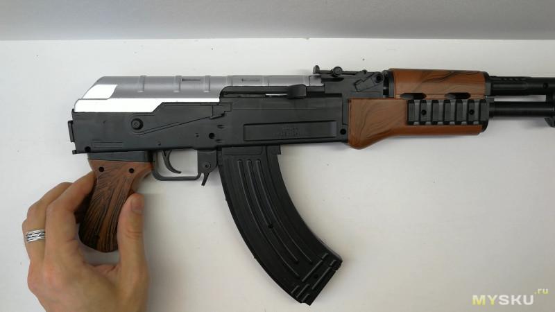 Светильник своими руками из АК-47