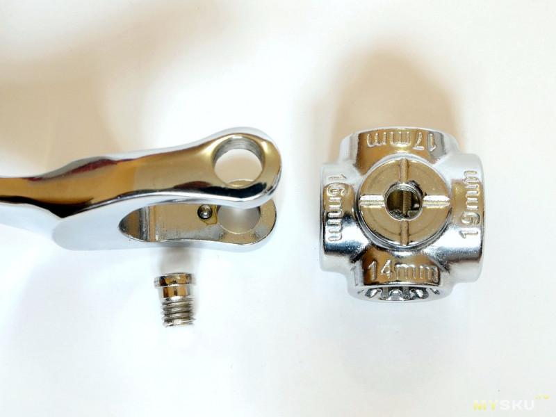 «Торцевой» гаечный ключ