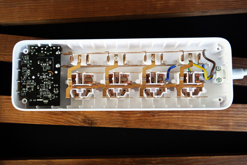 GearBest: Сетевой удлинитель xiaomi с USB зарядным устройством