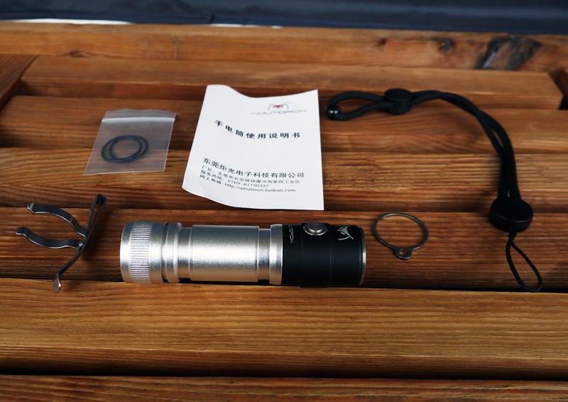 Фонарик Amutorch AX2  XPL HD 1100LM 18650 EDC