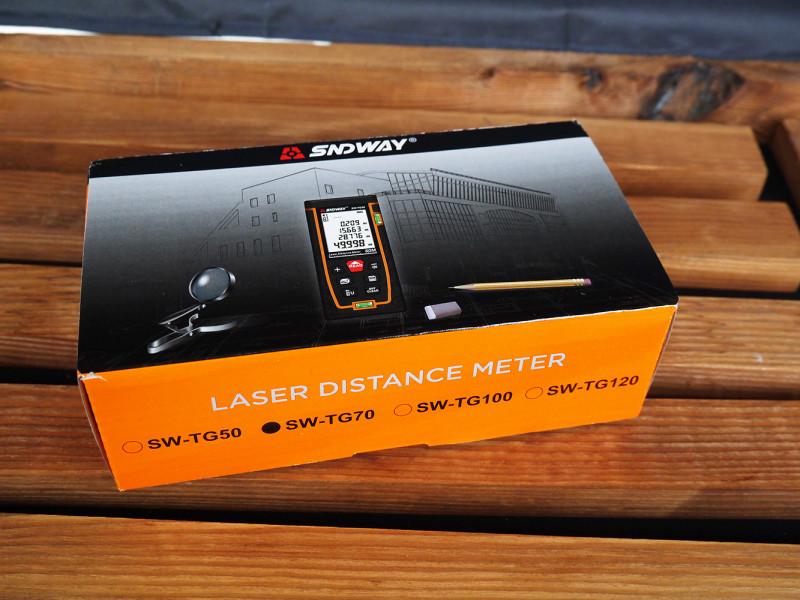 Лазерный дальномер SNDWAY SW-TG70
