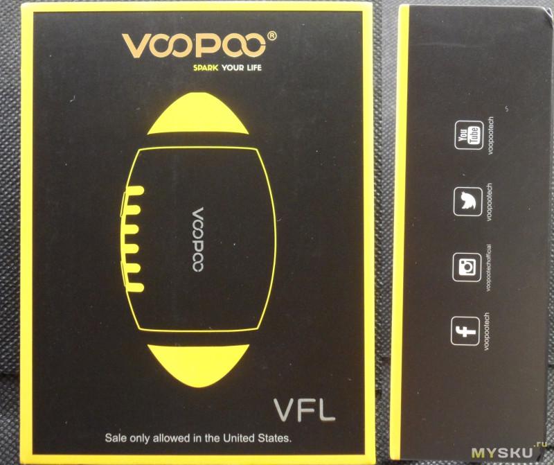 Электронная сигарета VOOPOO VFL Pod Starter Kit