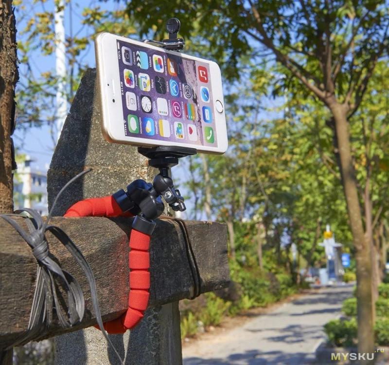 Трипод с держателем для телефона за $0,99 (Алибаба)