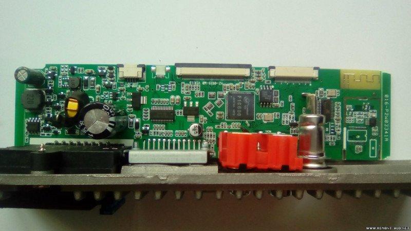 Апгрейд несенсорной магнитолы SWM 7805