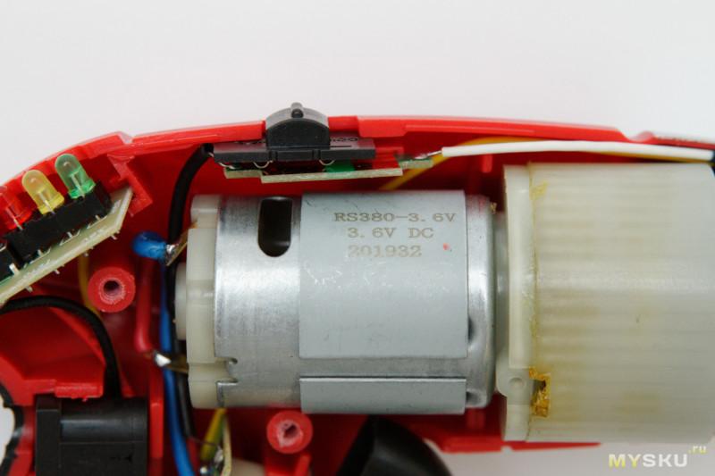 Мощная аккумуляторная электроотвёртка