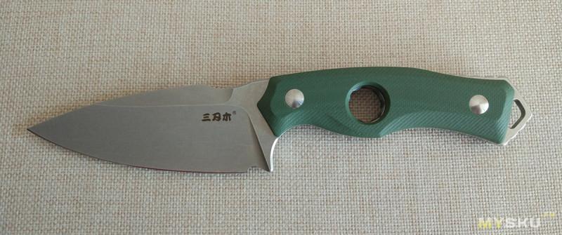 Sanrenmu S725. Наверное, самый лучший китайский нескладной нож, из тех, что я держал в своих руках