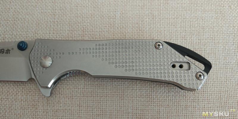 Складной нож Sanrenmu 9015. Тяжелый, но удобный для EDC