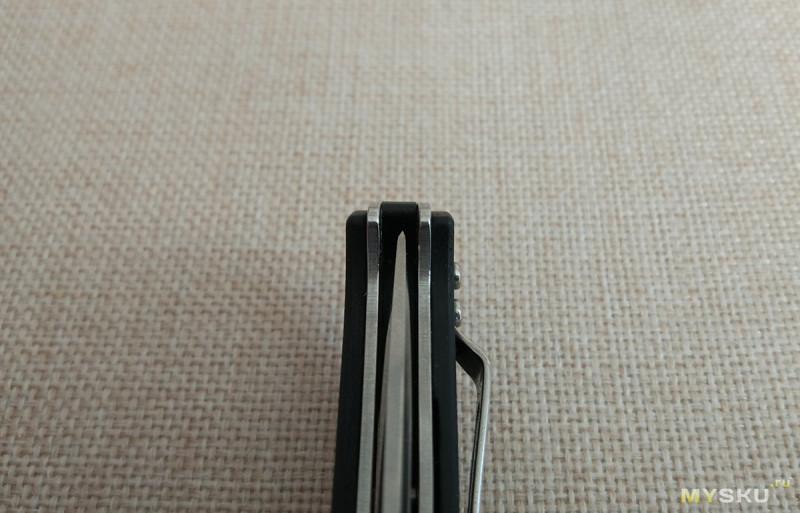 Складной нож Sanrenmu 9011. Плоский и легкий