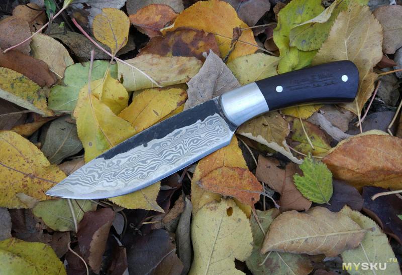 «Кованый» нож под логотипом Virginia Blade