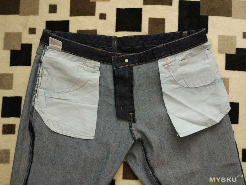 Мужские джинсы Zanstyle