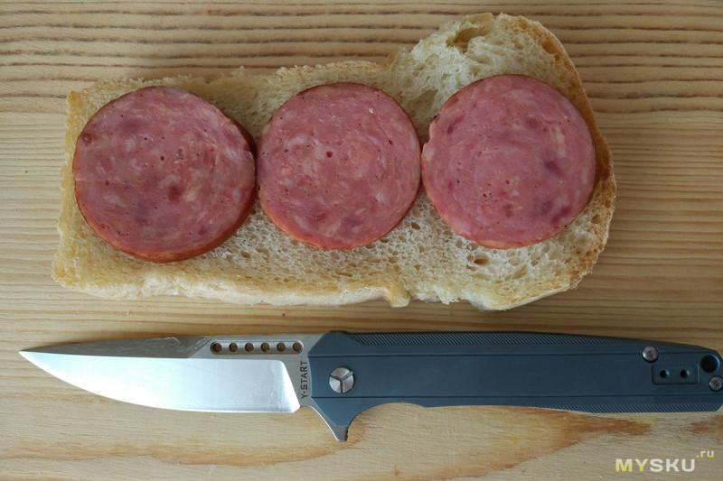 Нож Y-START LK5015. Флиппер весьма внушительной длины