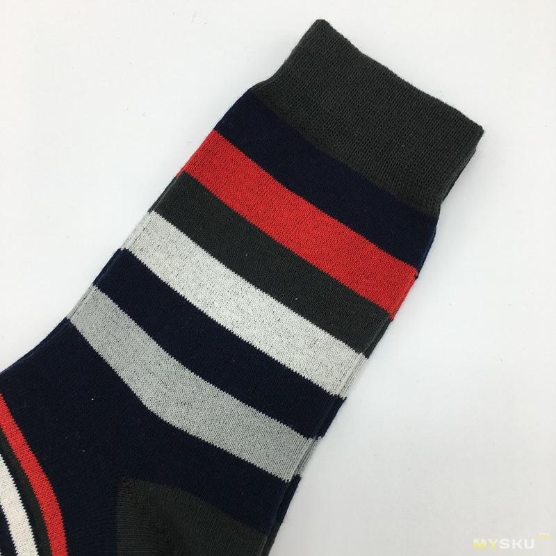 Пак из 10 пар носков веселых расцветок всего за $13.45