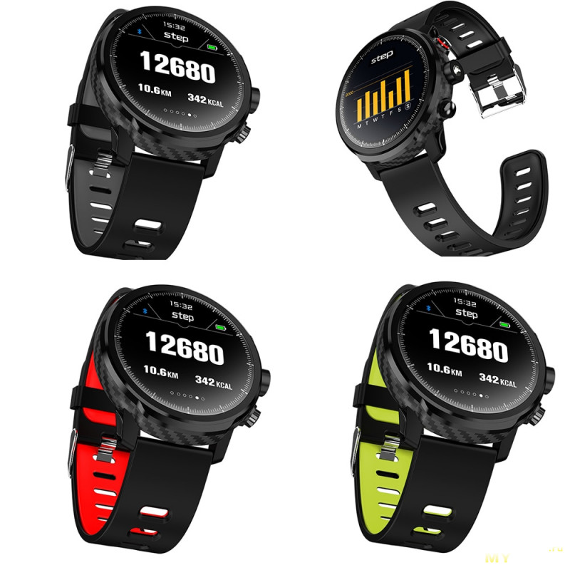 Умные часы Makibes L5 за $35.19